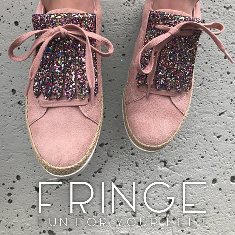 オレゴン州生まれのシューズアクセサリー <FRINGE YOU>  いつもの靴を自分だけのカスタマイズ