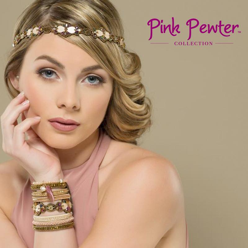 アメリカ・シカゴ発の「Pink Pewter」はアメリカ国内やヨーロッパなどでも人気急上昇中の「ヘアージュエリー」ブランド。